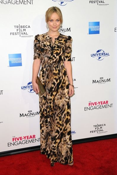 Olivia Wilde at the 2012 Tribeca Film Festival Premiere of The Five-Year Engagement