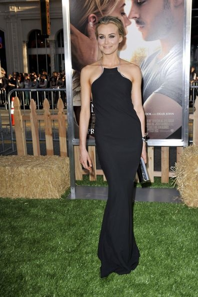 Taylor Schilling at the Los Angeles Premiere of The Lucky One