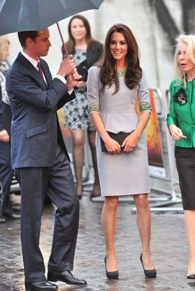 Catherine, Duchess of Cambridge at the London Premiere of African Cats