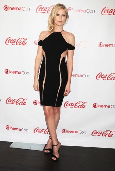Charlize Theron at the CinemaCon 2012 Big Screen Achievement Awards