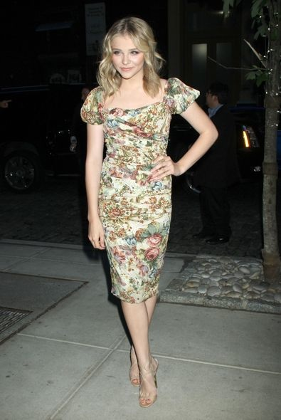 Chloe Moretz at the New York City Screening of Hick