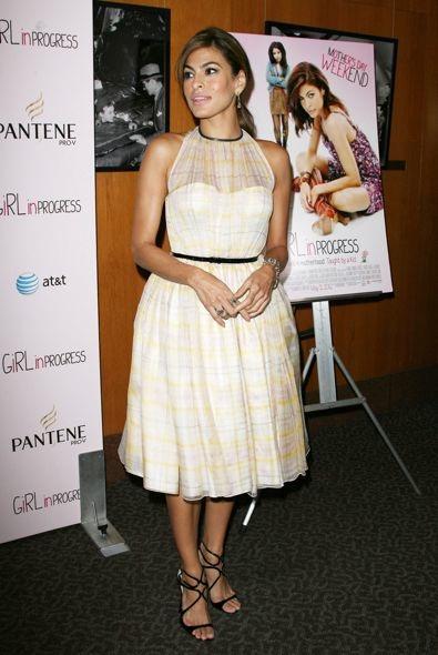Eva Mendes at a Special Screening of Girl in Progress