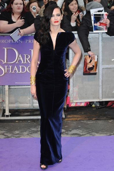 Eva Green at the UK Premiere of Dark Shadows