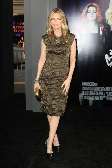 Michelle Pfeiffer at the Los Angeles Premiere of Dark Shadows