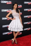 Zoe Saldana at the Cosmopolitan for Latinas Premiere Issue Party