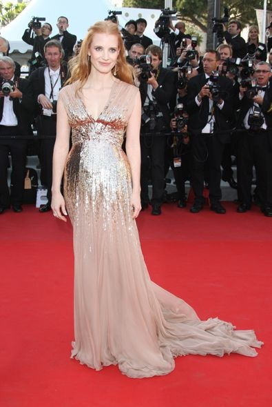 Jessica Chastain at the 65th Annual Cannes International Film Festival Premiere of Lawless