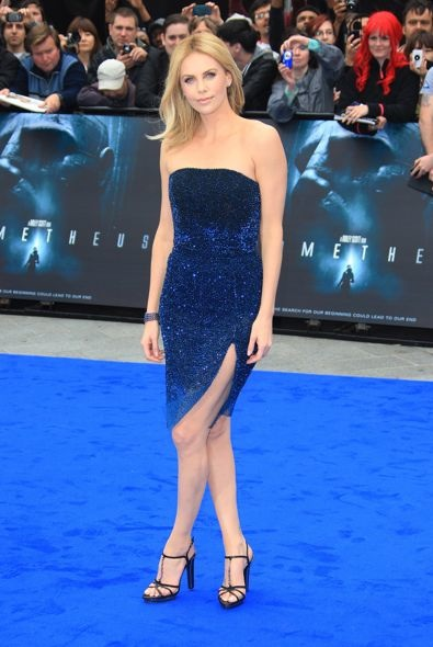 Charlize Theron at the World Premiere of Prometheus