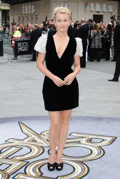 Julianne Hough at the UK Premiere of Rock of Ages