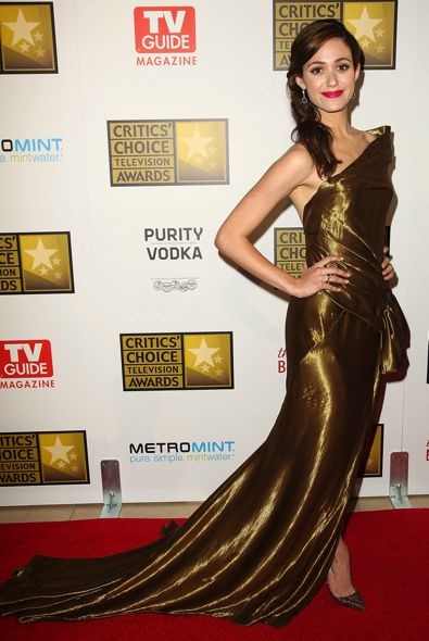 Emmy Rossum at the 2012 Critics' Choice Television Awards