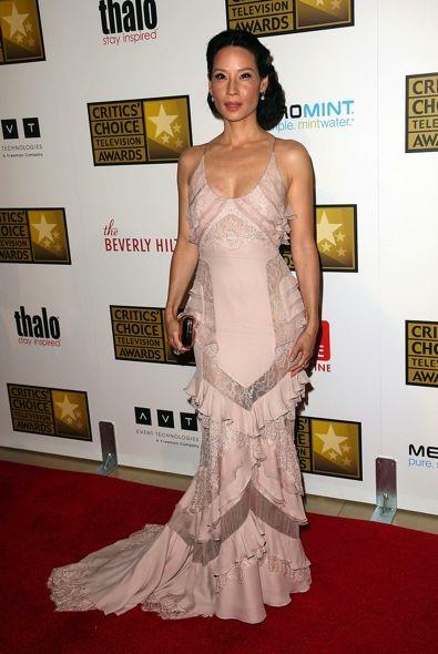 Lucy Liu at the 2012 Critics' Choice Television Awards