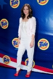 Katharine McPhee at Tide's My Story. Our Flag.