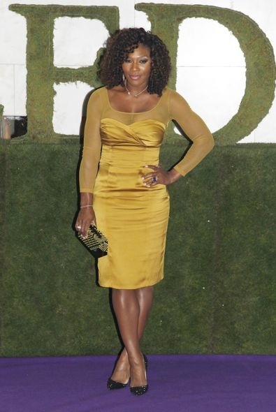 Serena Williams at the 2012 Wimbledon Championships Winners Ball