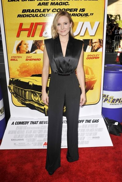 Kristen Bell at the Los Angeles Premiere of Hit & Run