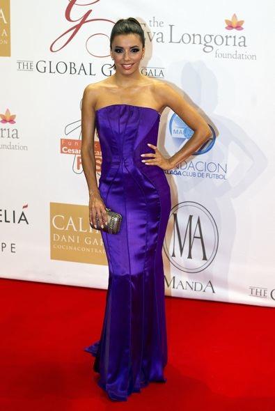Eva Longoria at the 2012 Global Gift Gala