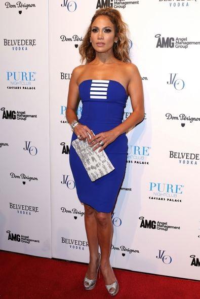 Jennifer Lopez at a Pure Nightclub Party