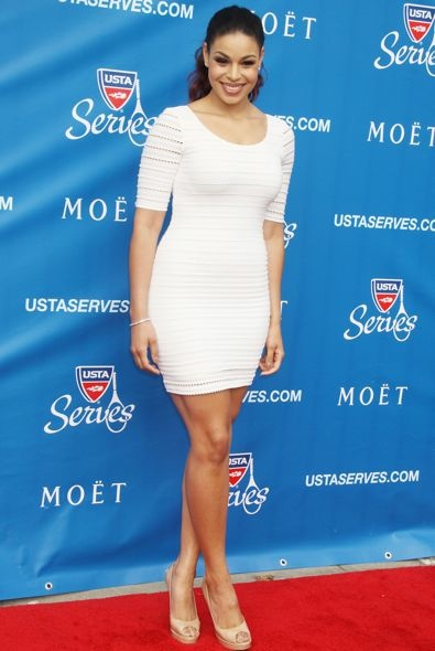 Jordin Sparks at the 2012 US Open Opening Night Ceremonies