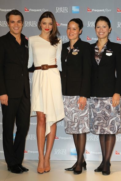 Miranda Kerr at the David Jones AMEX Press Conference