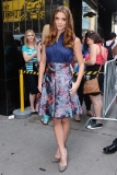 Ashley Greene at a Good Afternoon America Appearance