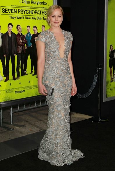 Abbie Cornish at the Los Angeles Premiere of Seven Psychopaths