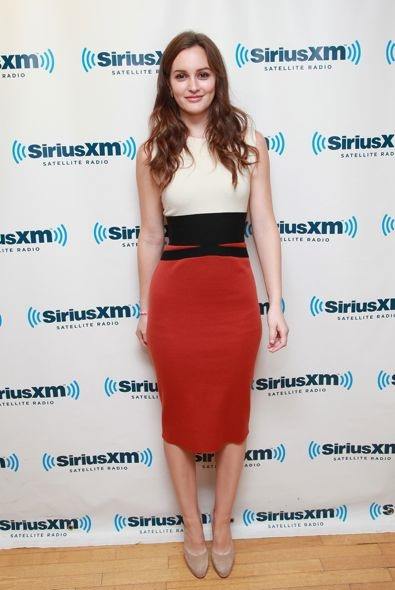 Leighton Meester at SiriusXM Radio
