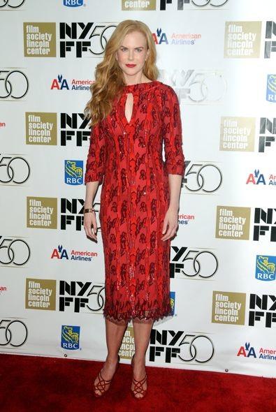 Nicole Kidman at the 50th New York Film Festival Gala Tribute