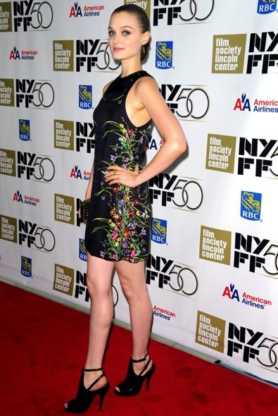Bella Heathcote at the 50th New York Film Festival Premiere of Not Fade Away