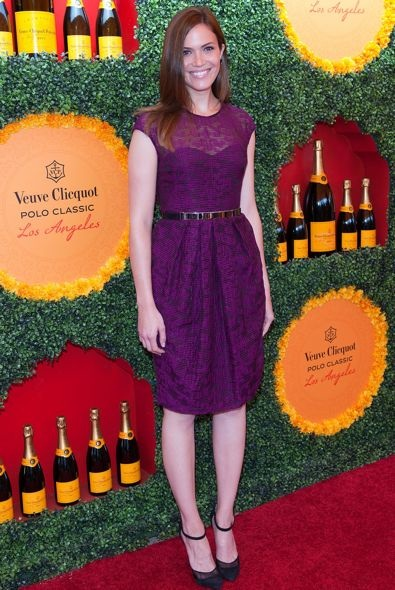 Mandy Moore at the 2012 Veuve Clicquot Polo Classic