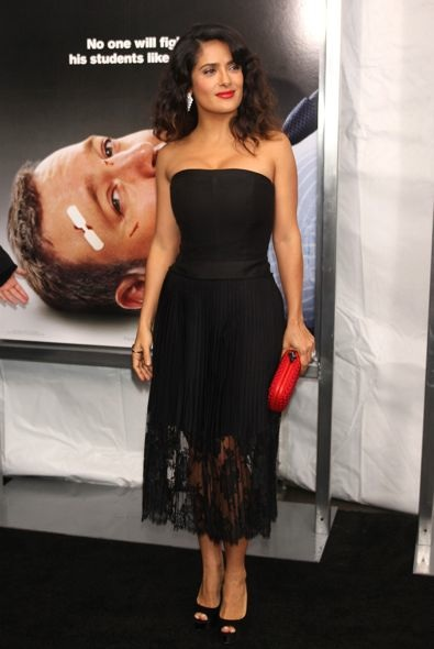 Salma Hayek at the New York Premiere of Here Comes the Boom