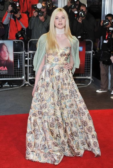 Elle Fanning at the 56th BFI London Film Festival Premiere of Ginger & Rosa