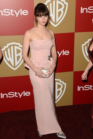 Felicity Jones at the InStyle and Warner Bros. Golden Globe After Party