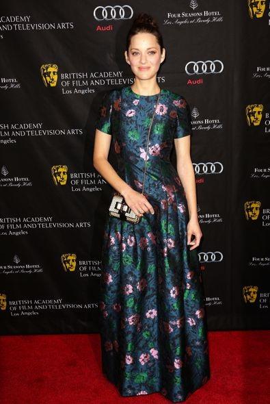 Marion Cotillard at the BAFTA Los Angeles Awards Season Tea Party 2013