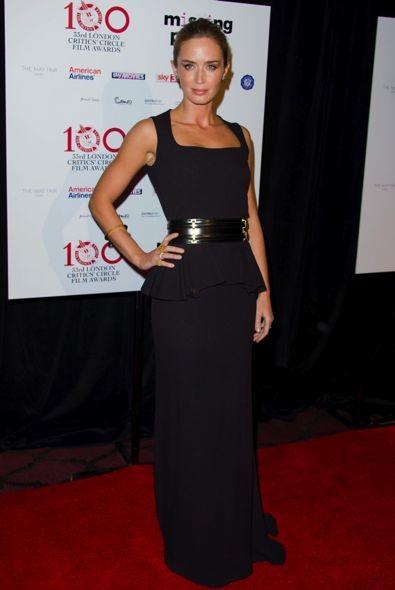 Emily Blunt at the London Critics' Circle Film Awards