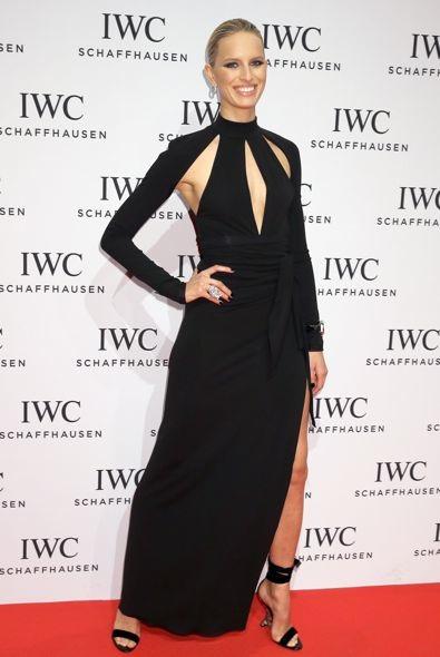 Karolina Kurkova at the IWC Schaffhausen Race Night Event