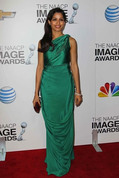 Freida Pinto at the 44th NAACP Image Awards