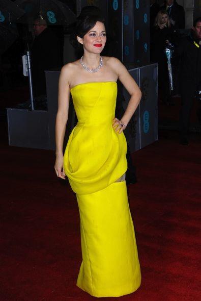 Marion Cotillard at the 2013 BAFTA Awards