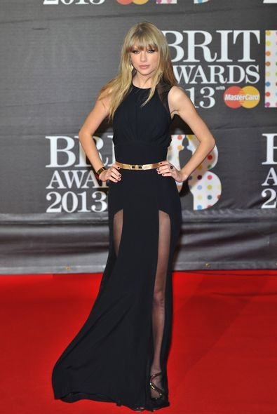 Taylor Swift at the 2013 BRIT Awards