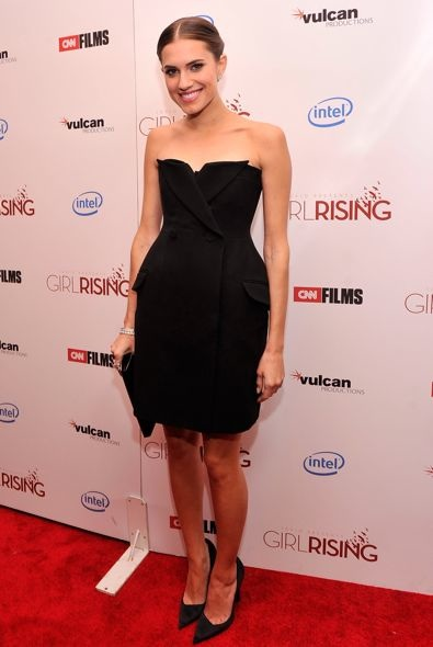 Allison Williams at the New York Premiere of Girl Rising