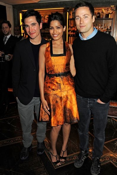 Freida Pinto at the Net-A-Porter and Proenza Schouler Exclusive Capsule Collection Launch