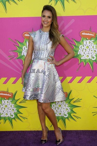 Jessica Alba at the 2013 Nickelodeon Kids