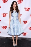 Emmy Rossum at the Broadway Opening of Lucky Guy