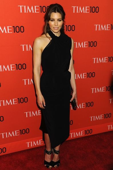 Jessica Biel at the 2013 Time 100 Gala