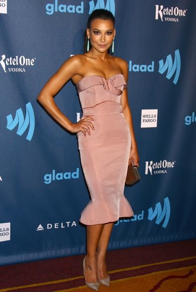 Naya Rivera at the 24th Annual GLAAD Media Awards