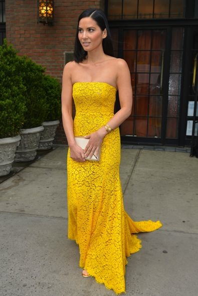 Olivia Munn at the 2013 Time 100 Gala
