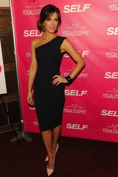 Kate Beckinsale at SELF Magazine and Jennifer Aniston Celebrate Mandy Ingber's Yogalosophy: 28 Days to the Ultimate Mind-Body Makeover