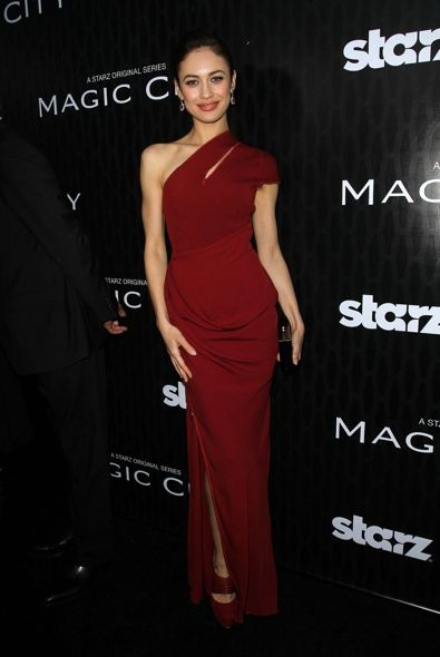 Olga Kurylenko at the Los Angeles Premiere of Magic City