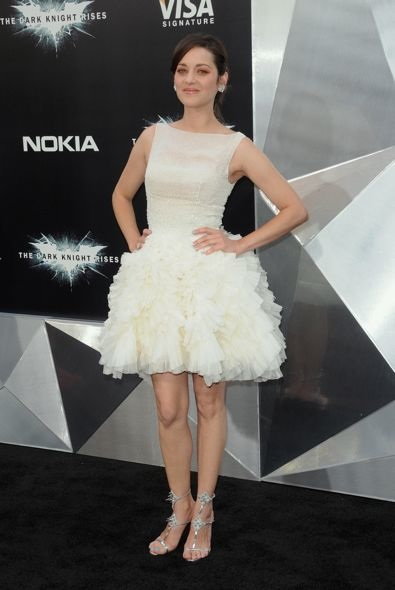 Marion Cotillard at the New York Premiere of The Dark Knight Rises