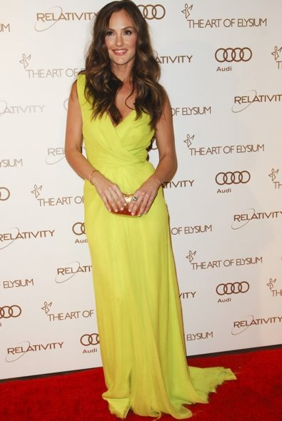 Minka Kelly at the 2012 Art of Elysium Heaven Gala