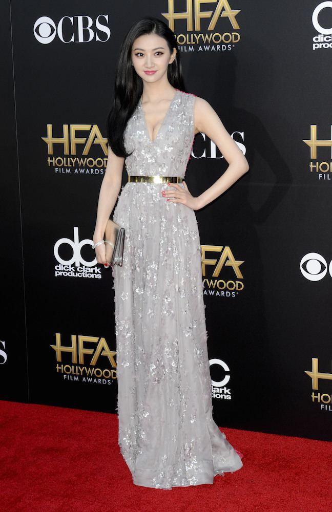 Jing Tian in Christian Dior