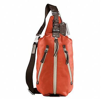 Thompson Leather One Shoulder Backpack by Coach