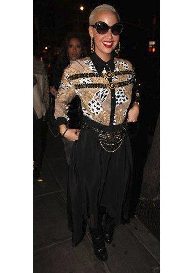 Amber Rose at HK NightClub